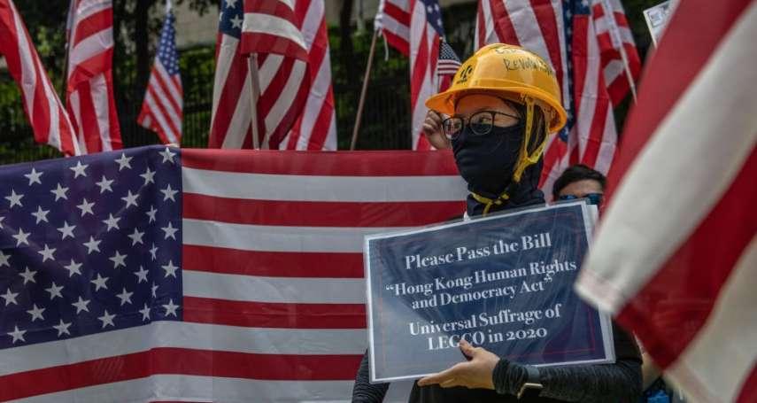 正與中國談判的川普,手上突然多了一把「雙刃劍」:香港人權法案
