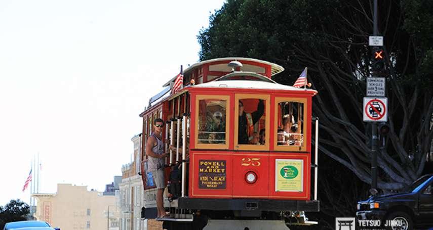 舊金山的代表!世界僅存的環形纜索鐵道