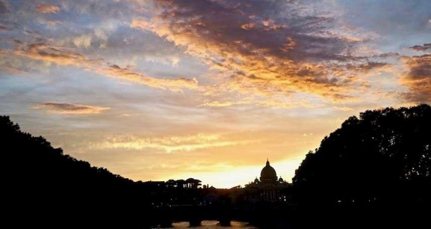 回望建城2772年的羅馬故事: 藝術家肯特里奇在台伯河畔的畫作