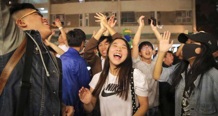香港親中勢力兵敗如山倒:區議會丟掉絕大多數議席,明年的立法會跟特首選舉將如何?