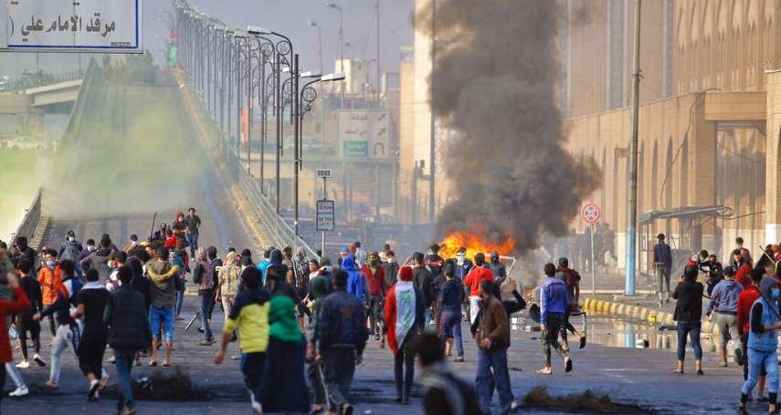 「伊拉克末日的開始…」45人中彈身亡!鎮暴部隊凌晨血洗和平示威者,全國人民憤怒沸騰