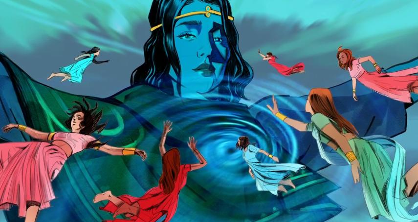 超級女英雄騎飛虎翱翔,施展女力對抗性暴力!印度最激勵人心的英雄漫畫Priya's Shakti