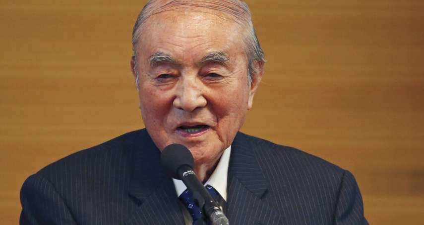 曾呼籲中國放棄武統台灣 外交部哀悼日本前首相中曾根康弘辭世