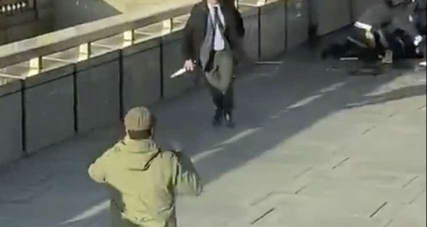 倫敦橋恐怖攻擊案》前恐怖分子假釋後再犯案,釀成2死3傷 英勇路人壓制凶嫌受讚揚
