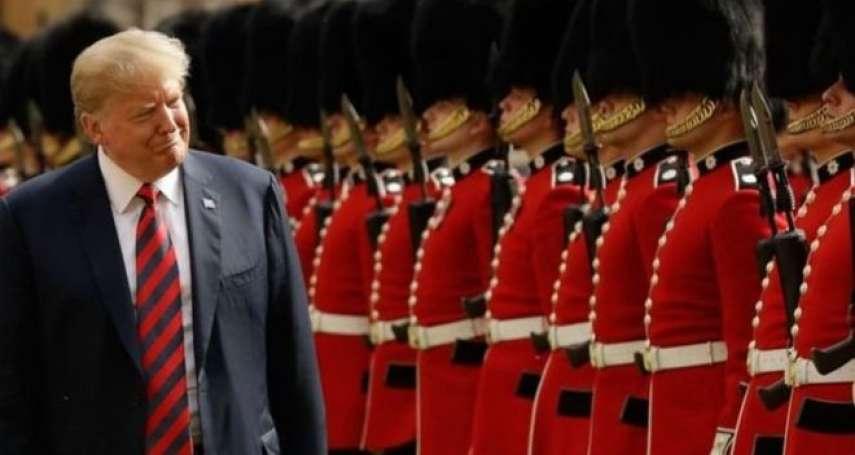 狂言總統訪英》憂川普影響大選、北約穩定 各國領導人提心吊膽