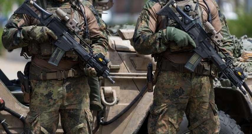 德國特種部隊成員竟行納粹禮!德國防部決定將其除名:絕不姑息右翼極端分子