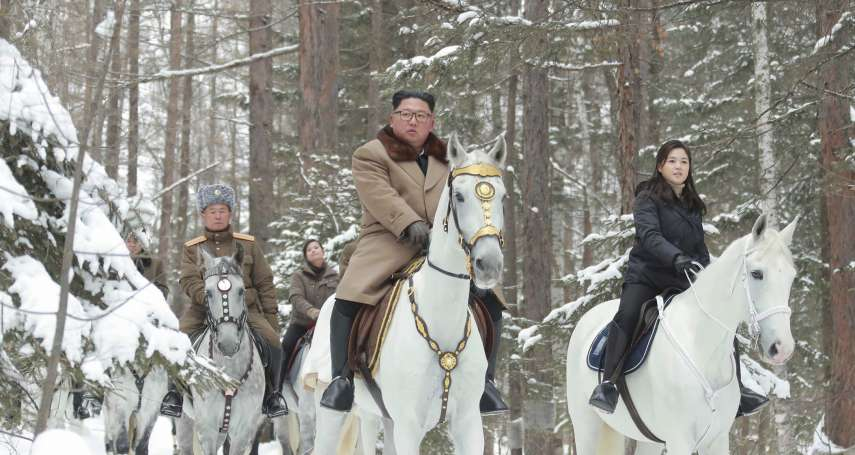 「白馬王子」要送耶誕禮物》北韓領導人金正恩再登白頭山 警告美國年底大限將到期