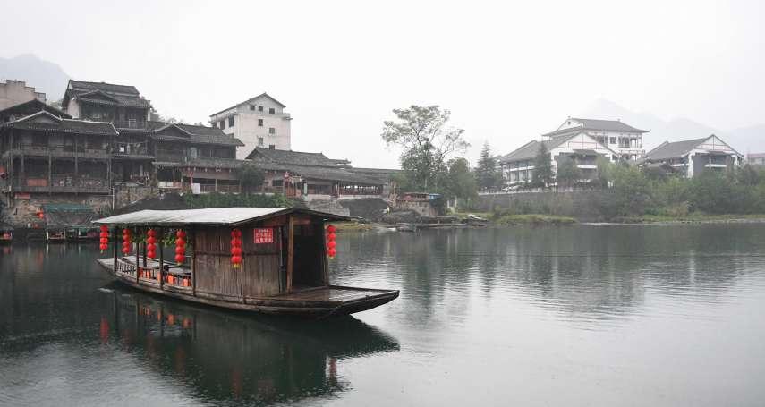 翠翠的家鄉,湘西茶峒鎮上演新版「邊城故事」