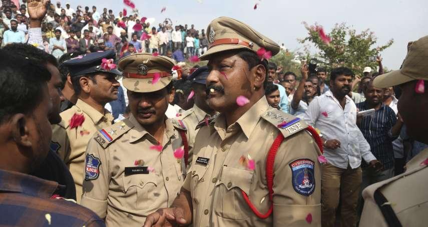 印度姦殺焚屍案》4名嫌犯還原現場時遭擊斃 警察:「他們想奪槍逃跑」網友普天同慶