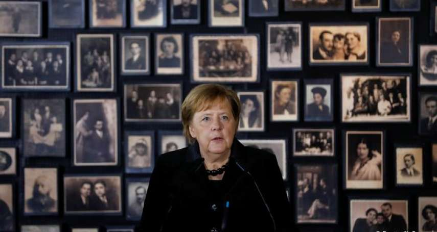 當今德國總理首度造訪奧斯威辛集中營 梅克爾:我深感羞恥,永不再對受迫害的人漠然無睹