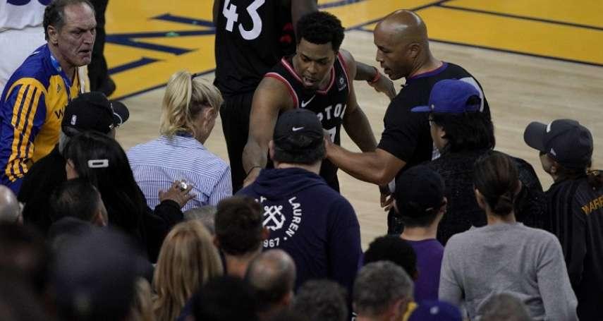 NBA》76人成功復仇保主場不敗 洛瑞重返家鄉卻又槓上球迷