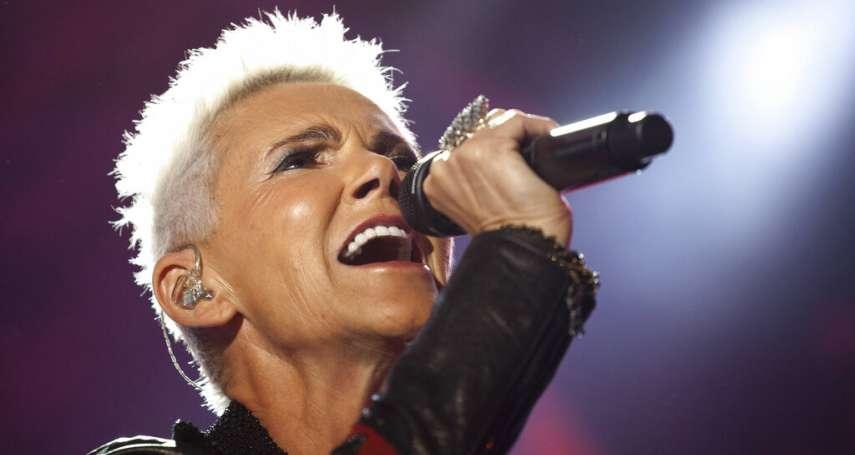 她唱紅TOYOTA廣告神曲、《麻雀變鳳凰》電影插曲...瑞典天團羅克塞女主唱腦瘤病逝
