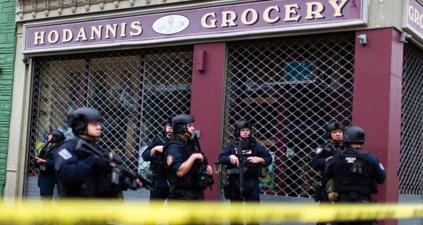 從公墓殺回市區...與紐約曼哈頓僅有一河之隔,美紐澤西州警匪槍戰釀6死