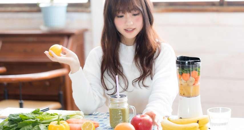 每天喝3杯蔬果汁,就能減重塑身?醫生提醒:小心糖分過高反變胖,還要注意這些陷阱