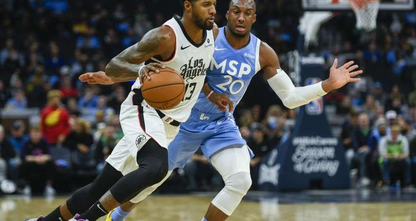 NBA》有夠難守!雷納德喬治聯手砍下88分 快艇客場勝灰狼