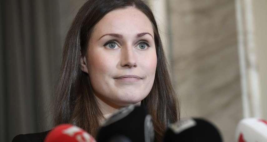 「售貨小姐竟能當總理!」芬蘭年輕女總理竟遭極右派老白男嘲諷 愛沙尼亞總統緊急道歉滅火