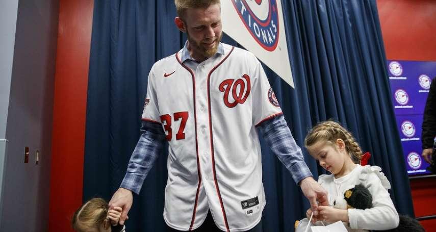 MLB》追隨兒時偶像「教士先生」 小史誓言:就想一輩子「當國民」
