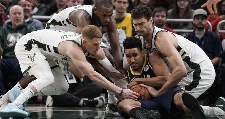 NBA》首度重返老東家回憶休賽季選擇 布洛格登自曝:溜馬比公鹿更看重我