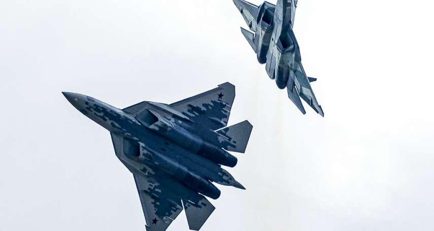 首批量產交付前出意外!俄羅斯最強戰機「蘇愷57」墜毀,飛行員及時彈射逃生