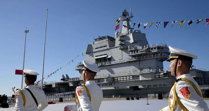 中國自製航母過台海》「不要做威脅台灣的行為」外交部感謝美國務院發聲挺台