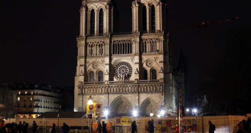巴黎聖母院浴火重生至少等5年! 聖母院主教:移除鷹架恐壓垮3個拱頂