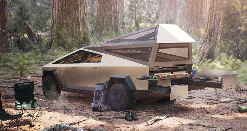 特斯拉皮卡狂銷25萬台到底在紅什麼?瞄準北美商機:高負重、高續航,還能變身露營車