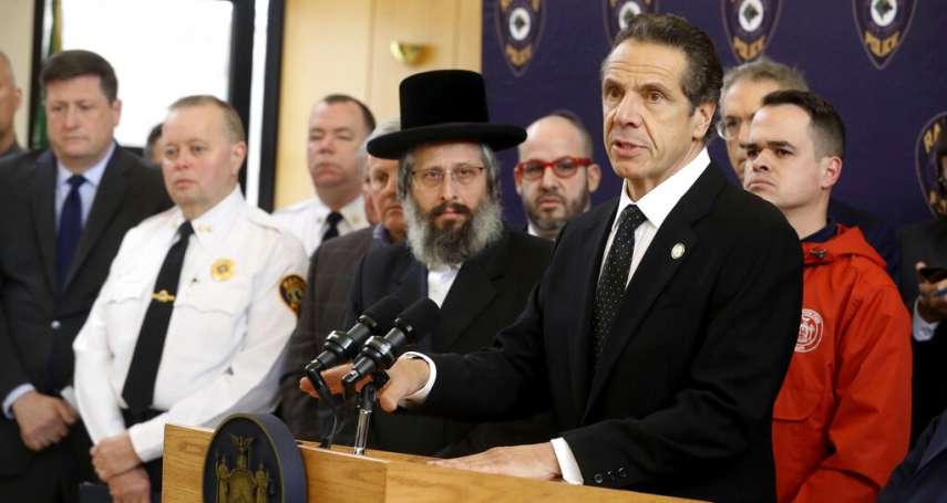 失控的仇恨、還是精神分裂發作?過去6天紐約第10起反猶犯罪:蒙面刀客衝進民宅刺傷5名猶太人