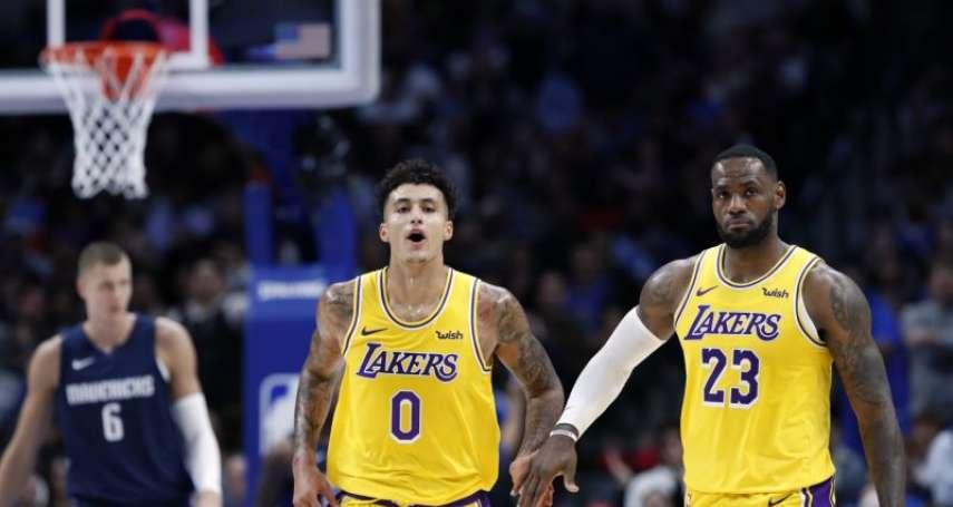 NBA》遭庫茲瑪訓練師暗指害怕雷納德 詹姆斯:不認識也不在乎
