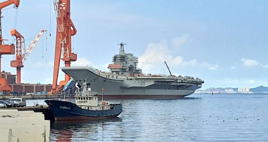 共軍航艦「山東號」昨通過台灣海峽 軍方研判意圖曝光