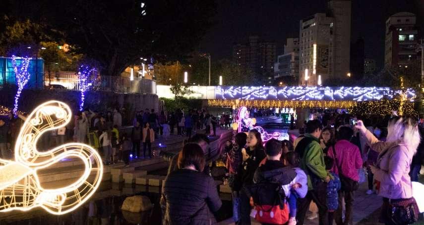 台中耶誕點燈落幕 百萬人次到訪中區再創地方商機