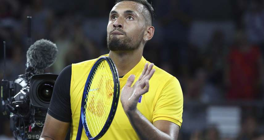 網球》「壞小子」基里洛斯每記ACE都捐澳洲大火 賽後難掩激動:這比網球更重大