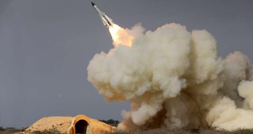 波斯灣戰雲密布》伊朗22枚飛彈攻擊伊拉克美軍基地 國際社會嚴陣以待