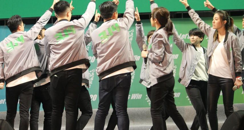 民進黨內青年營隊熱 林俊憲幫賴清德 海派找羅文嘉