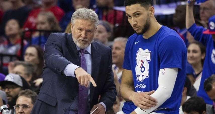 NBA》西蒙斯投進生涯第2顆三分球後就不再嘗試了! 布朗:我失敗了