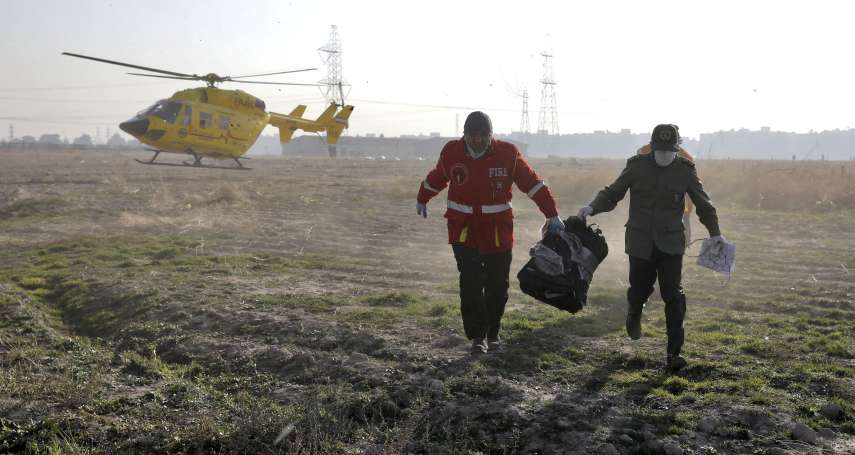 伊朗空難疑雲》專家推測烏克蘭客機「可能遭防空飛彈擊落」 德黑蘭當局態度啟人疑竇