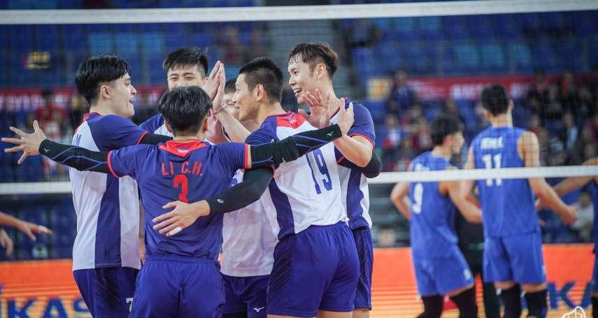 排球》中華男排無懼主場優勢 紅海五局惜敗中國