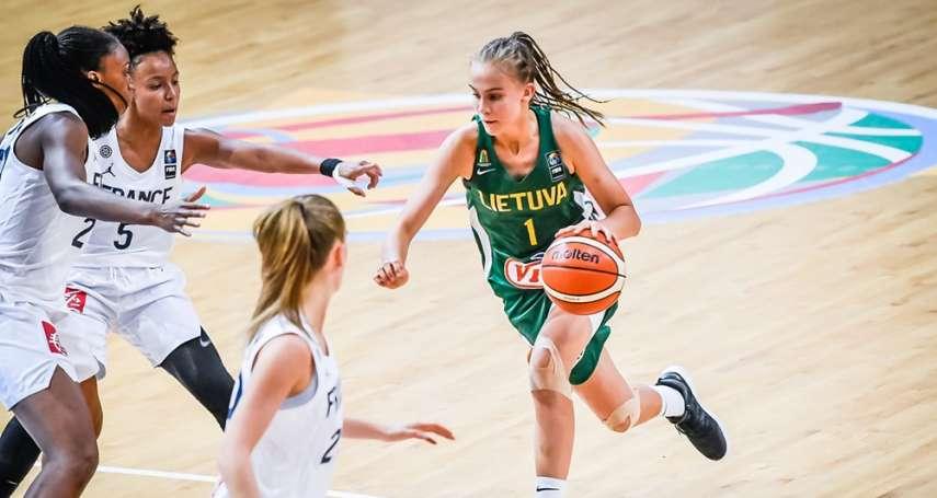 籃球》立陶宛神童13歲入選成人國家隊 帕克:她是這世代最特別的球員