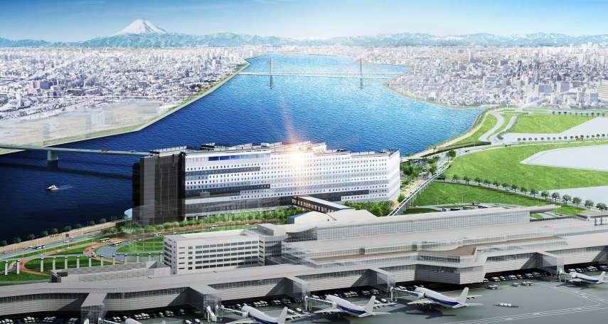「東京羽田機場花園」今年春天啟用  將成日本最大機場飯店