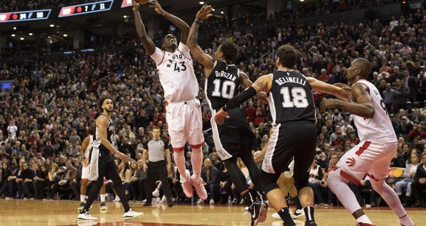 NBA》席亞康歸隊繳15分仍不敵馬刺 暴龍差這2人就全員到齊