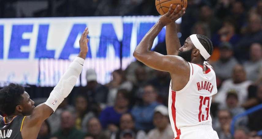 NBA》聯盟五大最難防守球星 巴特勒:哈登比健康的杜蘭特更難守