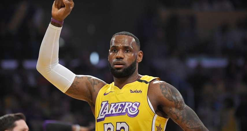 NBA》球衣銷售排行榜詹姆斯蟬聯第一 字母哥、唐西奇衝新高