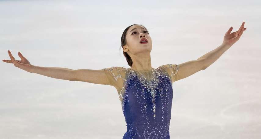 花滑》11歲成全國冠軍完成3連霸,人稱金妍兒接班人,15歲「天才少女」劉永青奧奪金!