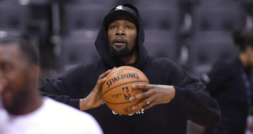 NBA》杜蘭特談當今最難防守5大球星 快艇包辦3人卻自爆忘了「他」