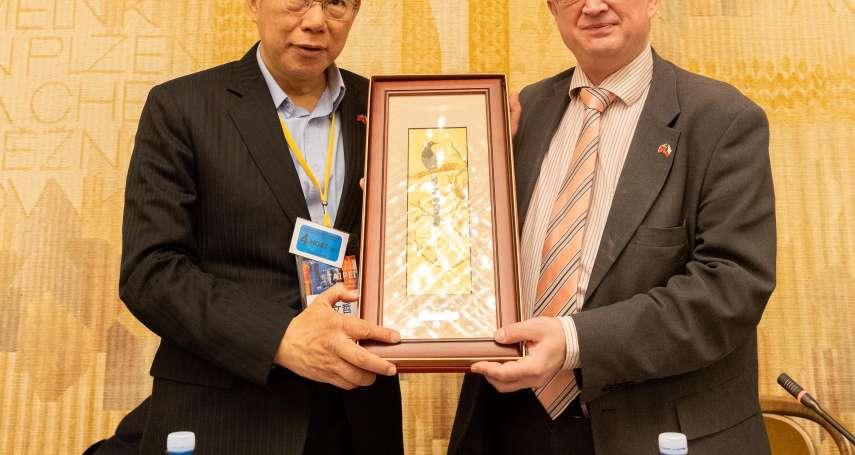 蔡壁如「歡迎」黃國昌任民眾黨副主席 柯文哲:不要過度消費人家