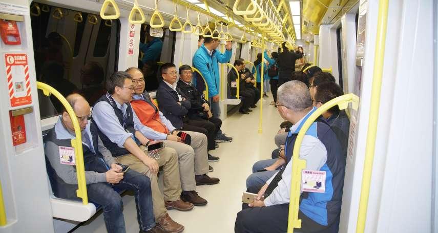 捷運環狀線將開放試乘,擬農曆年後通車!最快19日起這時段供民眾免費搭乘