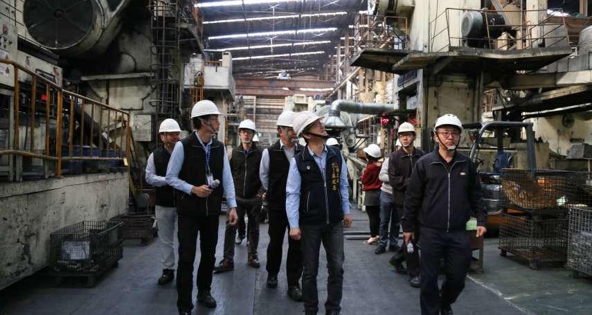 中市府啟動製造業春安勞檢 裁處42萬並限期改善