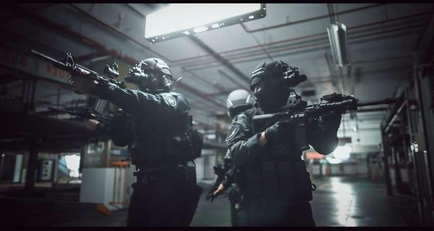 警方反恐演練前進京華城 4支特勤隊首度同台