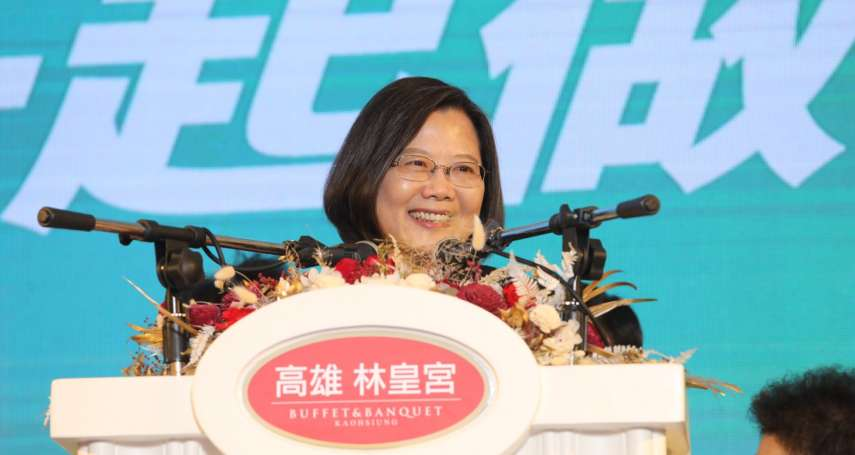 高雄總統得票破紀錄 蔡英文讚競選主委管碧玲戰力驚人