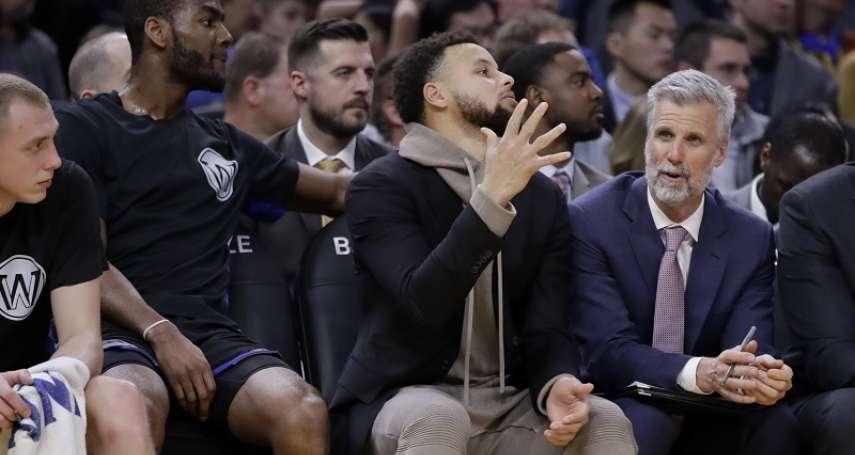 NBA》有望3月2日復出迎戰巫師 柯瑞:復健沒有什麼挫折