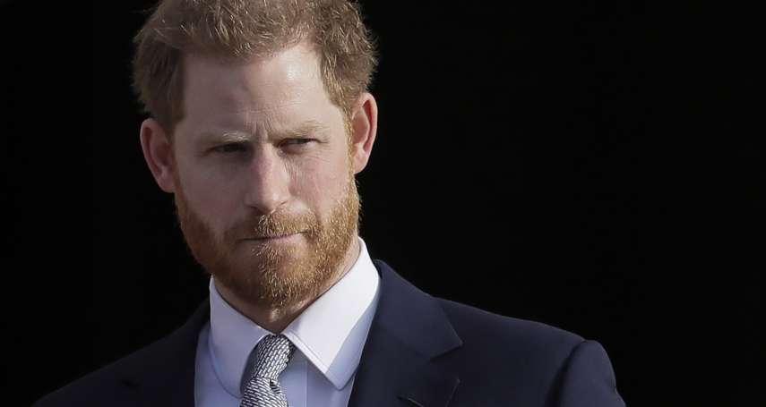 與王室分家「真的別無選擇,我非常哀傷」 哈利王子:和梅根在一起,我找到終身追求的愛與幸福